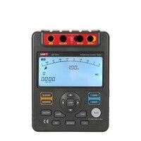UNI T UT511 Insulation Resistance Tester Low Ohm Ohmmeter Voltmeter Auto Range 1000V LCD Testers Meter