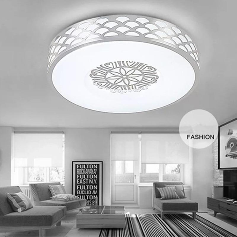 European luxury LED ceiling light lighting modern lamp living room bedroom kitchen surface mount remote control ceiling lamp
