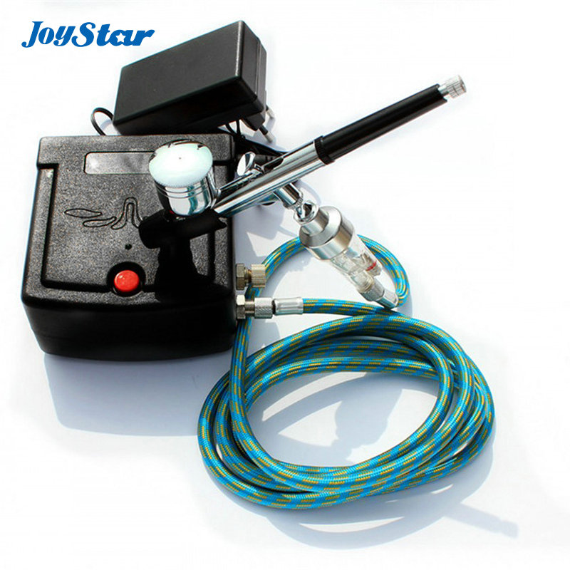 ABEST Dual Action Airbrush Compressor Complete kit for Cake Making Toy Hobby Models