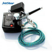 ABEST Dual action airbrush compressor Complete kit with filter for toy Hobby models