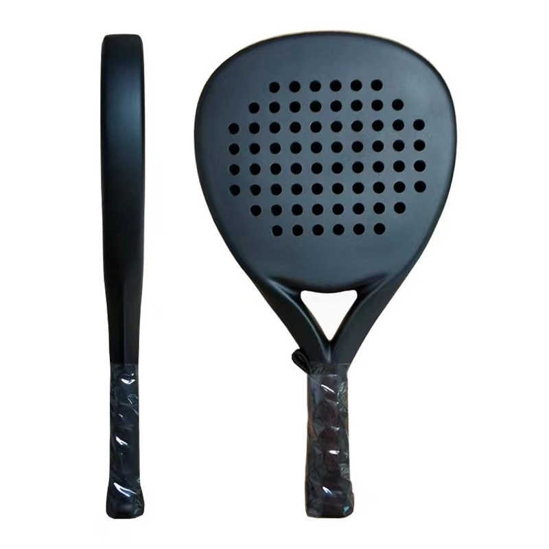 Carbon Fiber Padel Tennis Racket Beach Rackets Soft EVA Face Paddle Tennis Racquet Racket with Paddle Bag Cover