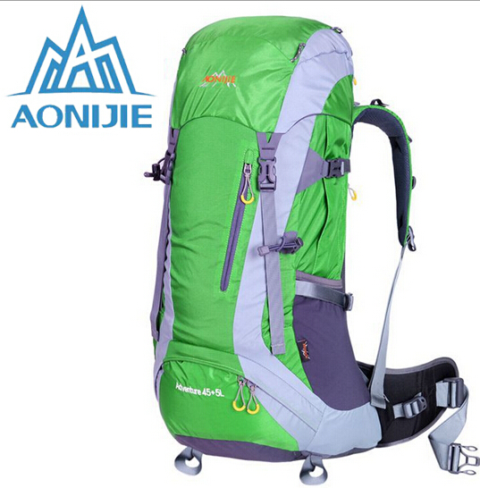 AONIJIE Outdoor Sport Travel Backpack Climbing Bags Knapsack Camping Hiking Backpack Cycling Mountain Climbing Backpack