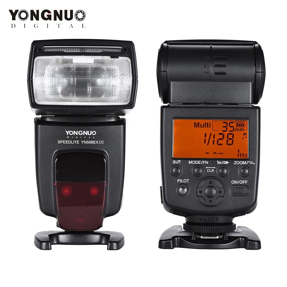 YONGNUO YN568EX III YN 568EX III TTL Wireless HSS Flash Speedlite for Canon Nikon DSLR Camera