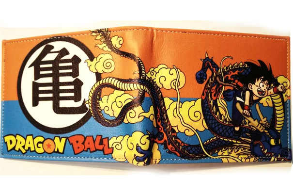 Dragon Ball Z бумажник молодая Для мужчин и Для женщин студентов в стиле аниме; модные короткие кошельки японский мультфильм комикс кошелек, цена в долларах