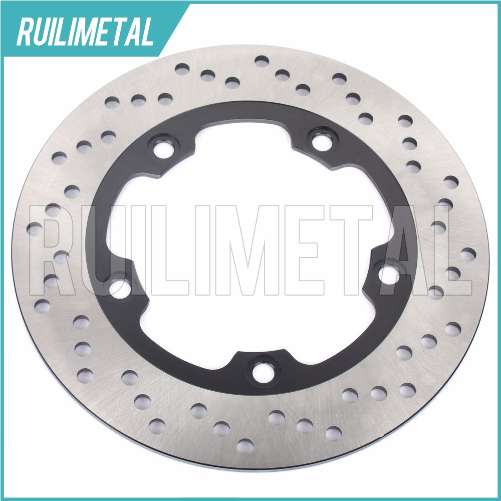 Rear Brake Disc Rotor for SUZUKI GSR 400 600 ABS GSF GSX SV 650 Bandit ABS S F FA 2008 2009 2010 2011 2012 2013 1200 1250 N adjustable short straight clutch brake levers for suzuki gsx 650 f gsf 650 bandit n s dl 1000 v strom 2002 2015
