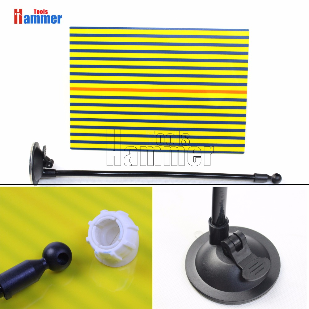 DIY Line Board Autos Exterior Paintless Dent Hail Repair Testing Tool Tester