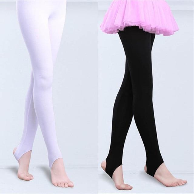 0fcbc7770673d TiaoBug Kids Teens Dance Pantyhose Stockings Stirrup Legging Tight Children  Unisex Boys Girls Yoga Gymnastics Ballet