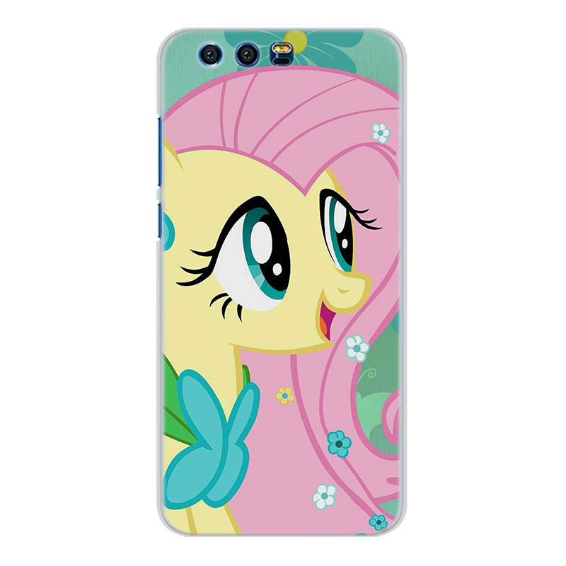 My Little Pony Transparent Frame Hard Phone Case Cover For Huawei