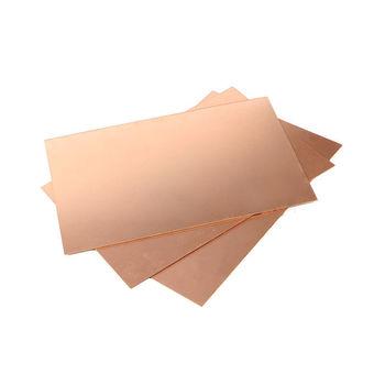 5Pcs One-side Single Side Copper Clad 70*100*1.6mm Brassboard Plate PCB Board