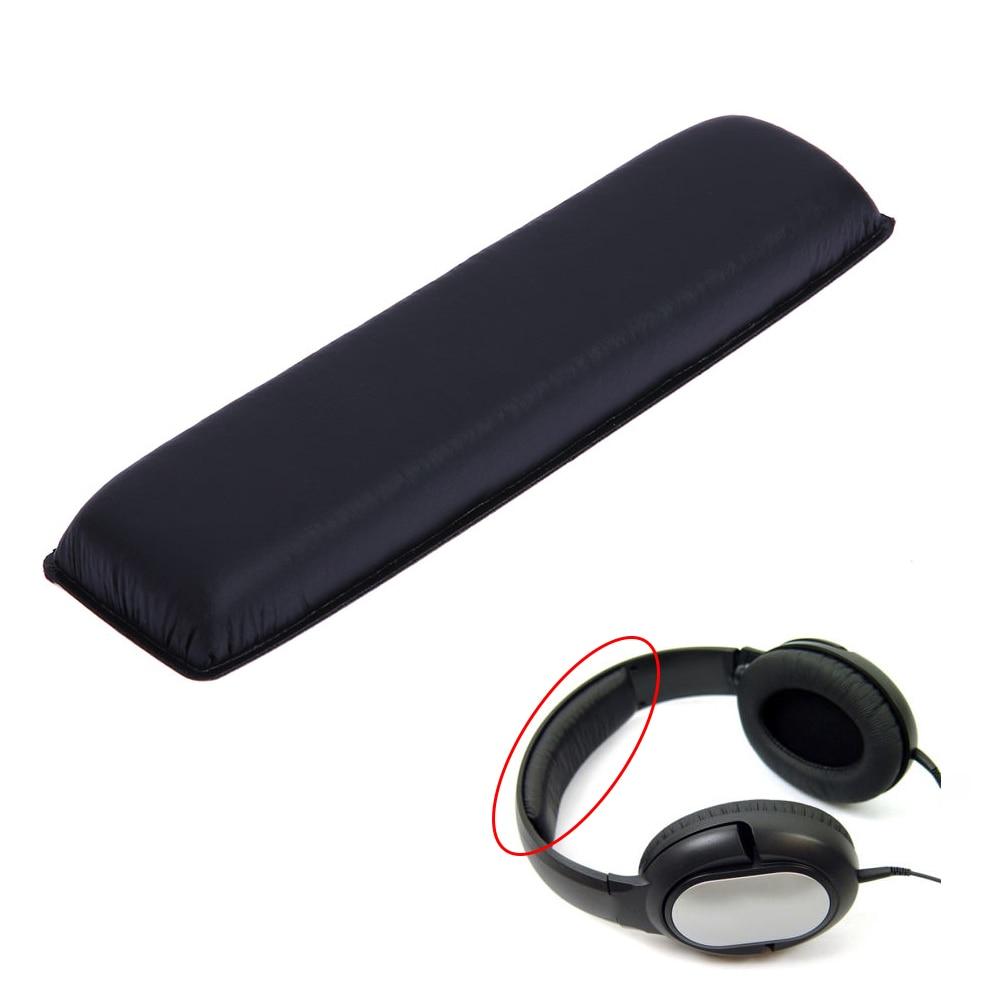 Replacement Headband Cushion Pad Soft Artificial Leather Foam Sponge Headband Cushion for Sennheiser HD201 Headphone