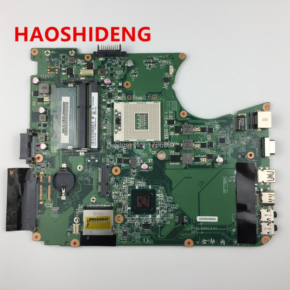 A000080670 DA0BLBMB6F0 DA0BLBMB6A0 for toshiba Satellite L750 L755 motherboard .All functions fully Tested !! стоимость