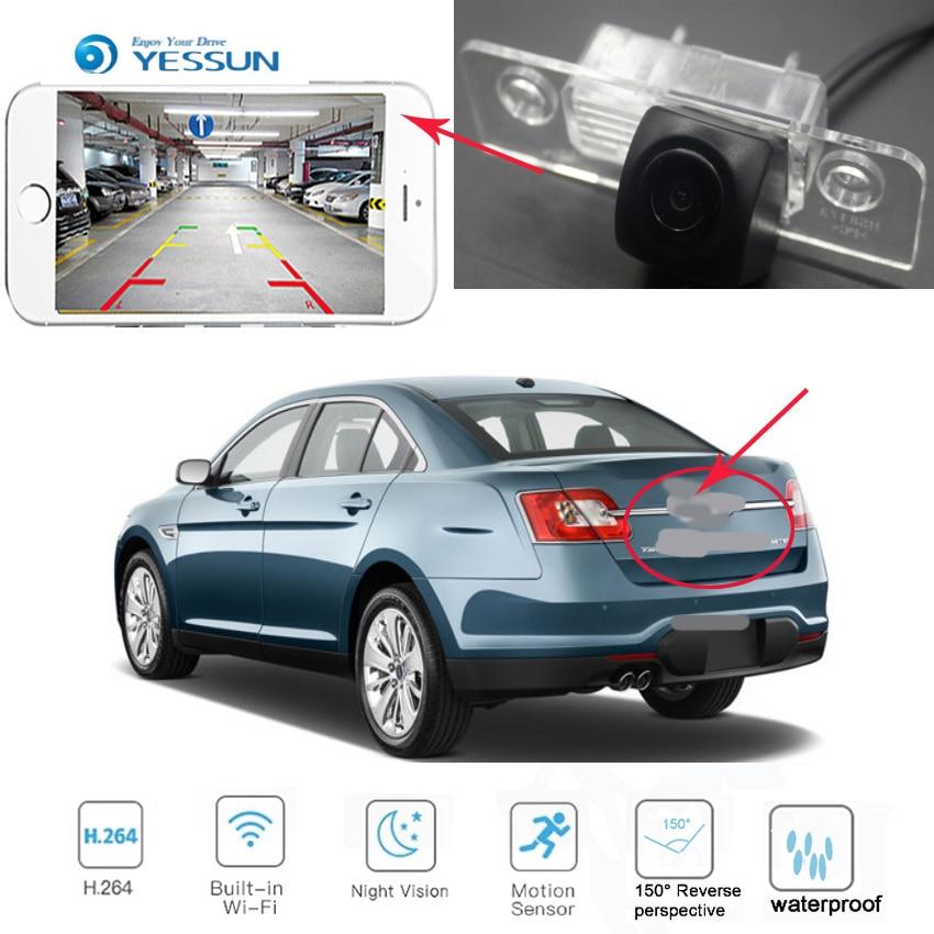 YESSUN nouveau Ariival pour Ford Taurus 2008 ~ 2017 CCD HD Vision nocturne caméra de recul caméra de recul vue arrière caméra sans fil