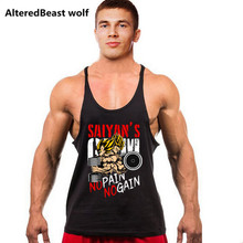 Men tank tops Sleeveless Shirt mens bodybuilding tank tops Fitness Singlets workut Gyms Vest  men Undershirt Golds Fitness tops