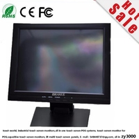 new stock 15 inch Industrial LCD Touch Screen Monitor ATM Distop computer Touch Screen Monitor / Touch Monitor For POS