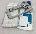 Полный Дело Крышка Корпуса Ближний Рамка + Назад корпус Инструменты 3 М Клей Бесплатно Прозрачный Корпус Для Samsung S5 G900F G900A