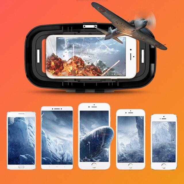Rovtop 3D Glasses VR Box Virtual Reality Cardboard Headset Helmet For Smartphone Samsung Eyeglasses VR Devices for Games Z2 1