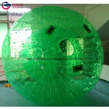 1.0MM Thickness PVC / TPU Material Inflatable zorb ball , Colorful Inflatable human size hamster ball 0 8mm pvc 1 2m 1 5m 1 8m air bumper ball body zorb ball bubble football bubble soccer zorb ball on sale