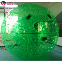 1.0MM Thickness PVC / TPU Material Inflatable zorb ball , Colorful Inflatable human size hamster ball