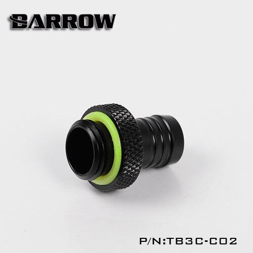 Barrow Musta messing G1 / 4 '' keere 3/8 käsitsi pingutage pagoodi - Arvuti komponendid - Foto 6