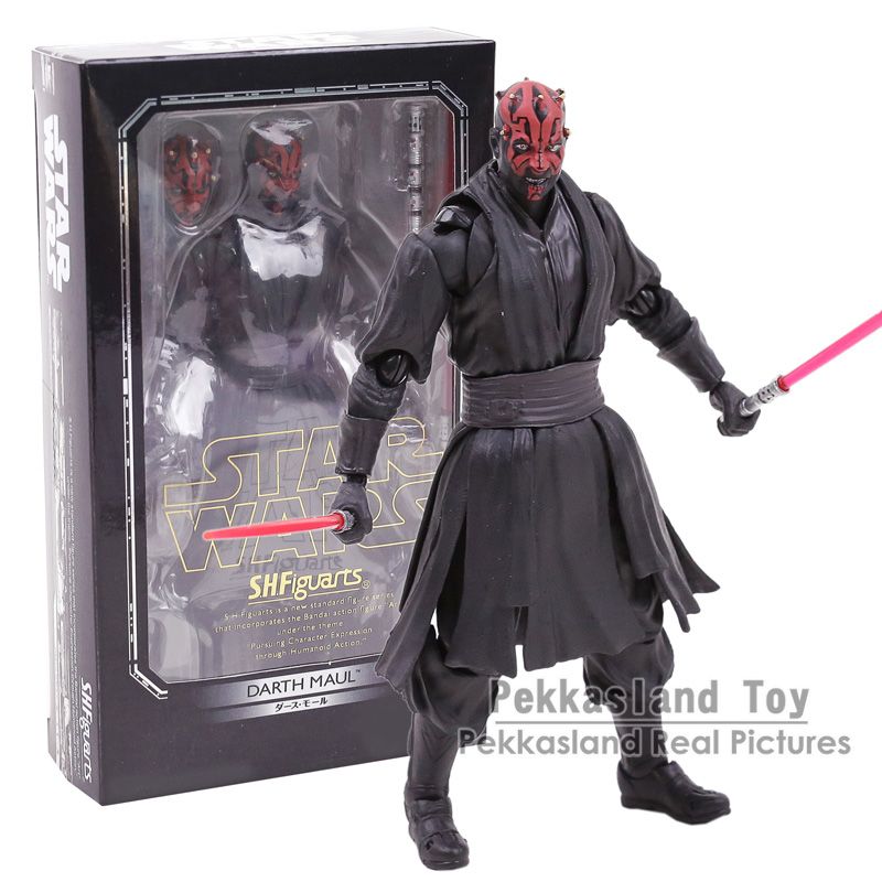SHF S.H.Figuarts Star Wars Darth Maul Episode I PVC Action Figure Collectible Model Toy 15CM