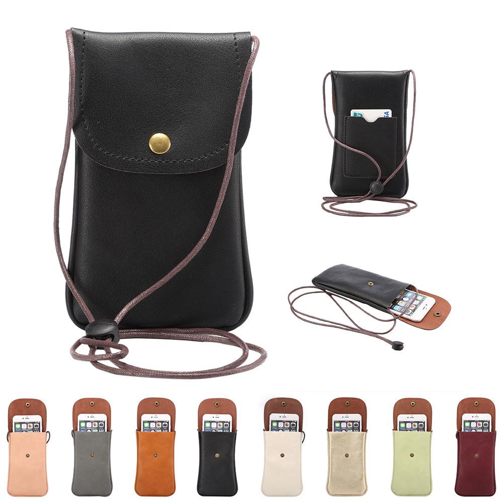 8 barev PU kožená taška na telefon Vintage ženy, taška přes rameno, pouzdro na kabelku, kabelka na kabelku pro ženy, taška Mini Messenger