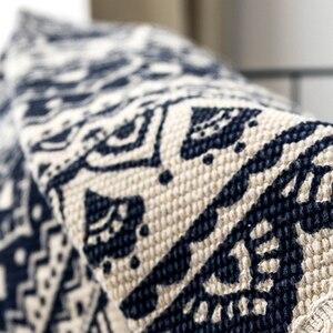 Image 5 - 曼荼羅ラウンド床敷物リビングルームの寝室のカーペットドアマット飾る家エリア綿ハンドメイド自由奔放に生きる敷物