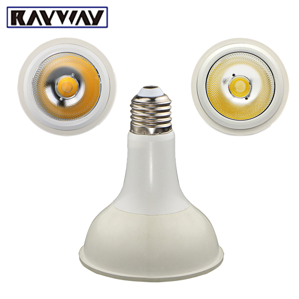 RAYWAY Rechargeable Emergency Light Bulb 12W E27 Par30 Spotlight Bulb AC85-265V Indoor Lighting Energy Saving LED Lamp Bombillas 1pcs e27 t80 led energy saving lamp light bulb velas led decorativas home lighting decoration 40w ac85 265v led lamp