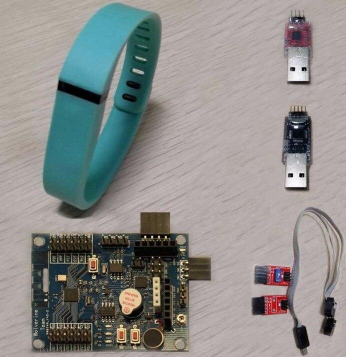 Fast Free Ship DA14580(open source programmable bracelet+development board)(watch/bracelet accessories) fast free ship electronic diy programmable console open source game development board for arduino develop