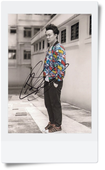 signed Eason Chan autographed  original photo 7  inches freeshipping famous singer  08201703 signed jang keun suk autographed original photo 6 inches kpop freeshipping 08201703
