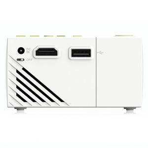 Image 5 - Excelvan YG310 cập nhật YG300 LED Máy Chiếu 800LM 3.5 mét 320x240 HDMI USB Mini Chiếu Home Media Player hỗ trợ 1080 p