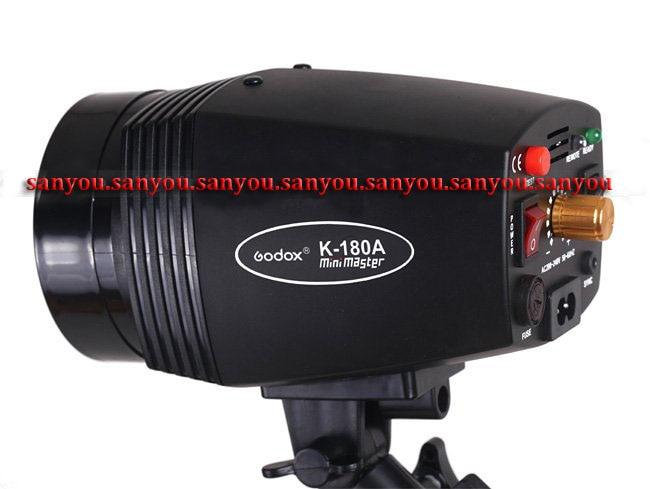 Бесплатная доставка - Godox K180A 180ws фотостудия мини вспышки Monolight