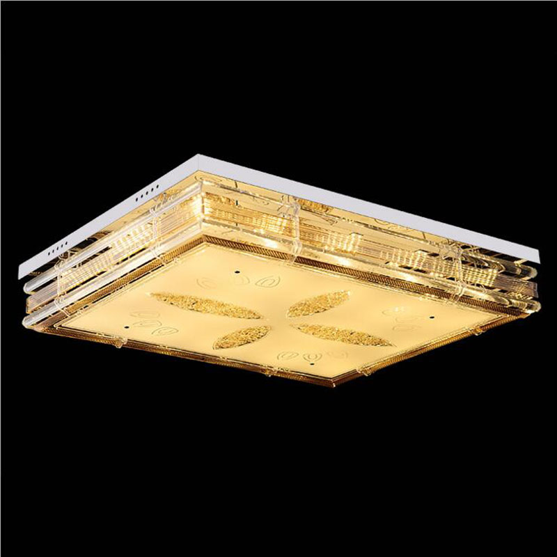 Crystal ceiling lamp Modern living room lamp Highlight living room crystal LED ceiling lighting fixture led lamps rectangle led new led high light living room crystal lamp rectangular living room lamp ceiling lamp chandelier lamp led lighting fixture led