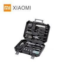 Kit de herramientas Xiaomi MIJIA JIUXUN para el hogar, herramienta manual de reparación, conjunto de herramientas de trabajo en madera, martillo destornillador, alicate, cinta métrica, cuchillo de utilidad