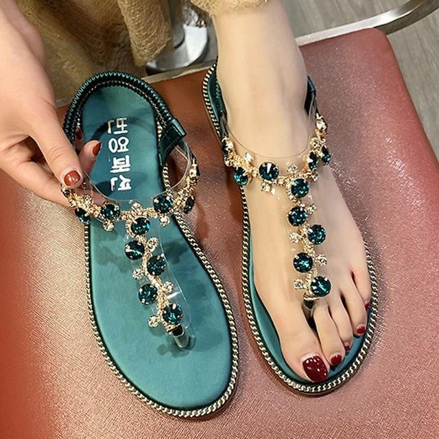 Fashion Women Sandals For 2020 Luxury Shoes Women Designers Beach Sandals Platform Ladies Shoes Light Breathable Roman Shoes 1