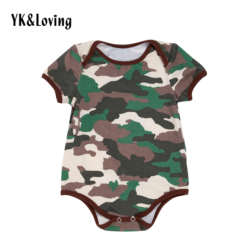 2016 Summer Style Baby Girls Clothes Cotton Short Sleeve Leopard Bodysuit + Shorts + Headband Ruffles Newborns Girl Clothing Set