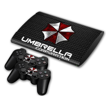 Game Resident Evil Skin Sticker Decal for PS3 Slim 4000 PlayStation 3 Console and Controllers For PS3 Skins Sticker Vinyl
