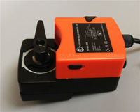 6Nm, AC220V Actuator for Electric ball valve, ON/OFF type with manual override and open angle Graduation