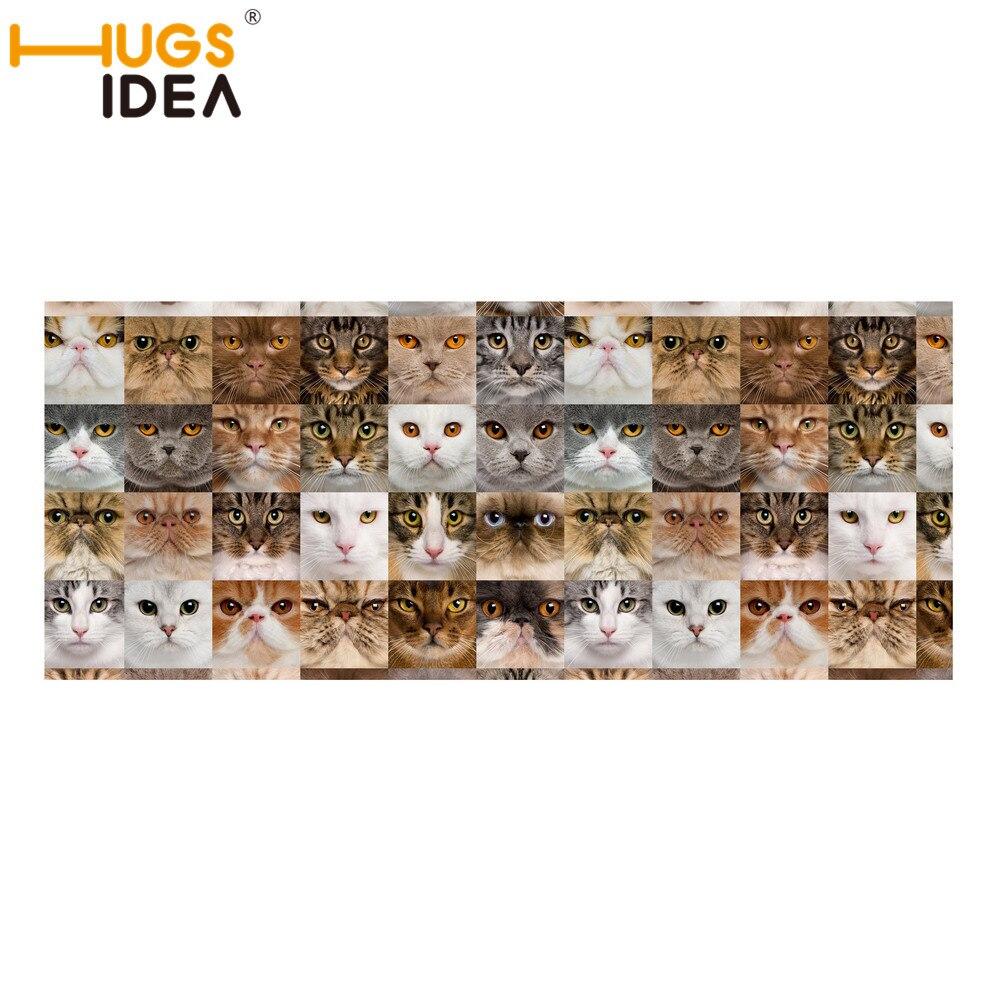 Hugsidea Marcos animal print alfombras de escalera fino Perros Gatos ...