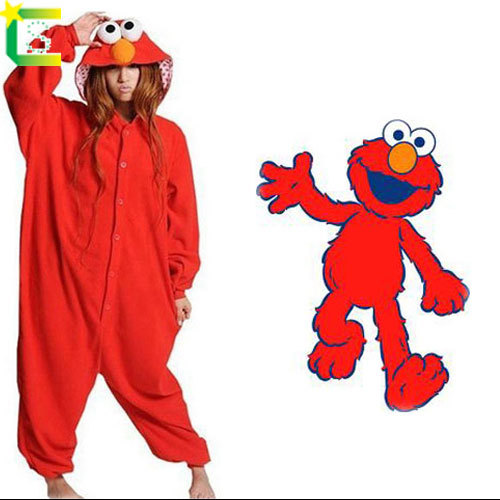 d6567f4b7f13 Red Blue Sesame Street Elmo Monster Onesie For Women Men Adults Hallowenen  Cosplay Costume Hot Selling -in Anime Costumes from Novelty   Special Use  on ...