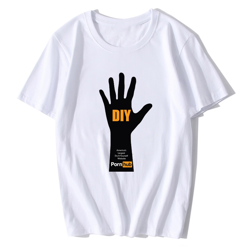 Brazzers T Shirt Fashion Men Funny Printed Fake Texi Letter T-shirt Short  Sleeve Harajuku e000ad61f795