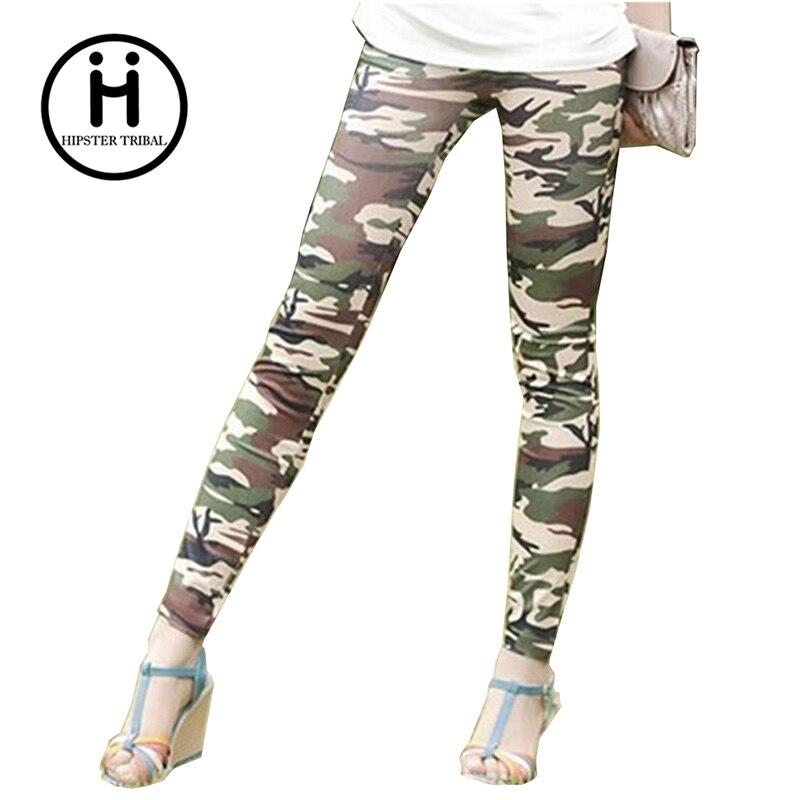 Fitness Leggings Camo: New 2016 Women'S Leggings Casual Fitness Camouflage High