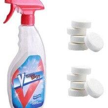 Многофункциональный Effervescent спрей, набор для очистки дома, машина для очистки от накипи, спрей, vclean очиститель, v чистое место