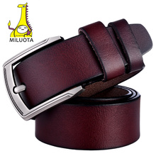 100% натуральная кожа ремень мужской металл пряжка ремни мужские ретро джинсы пояс(China (Mainland))