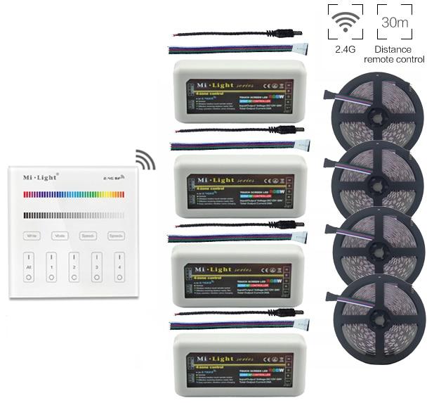 5 ~ 20 m 5050 RGB Led Strip Licht DC12V + Mi. Licht 2.4G RGB Led - LED-Verlichting