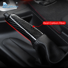 Airspeed for BMW E46 E90 E92 E60 E39 F30 F34 F10 F20 Accessories Universal Carbon Fiber Car Handbrake Grips Cover Interior Trim