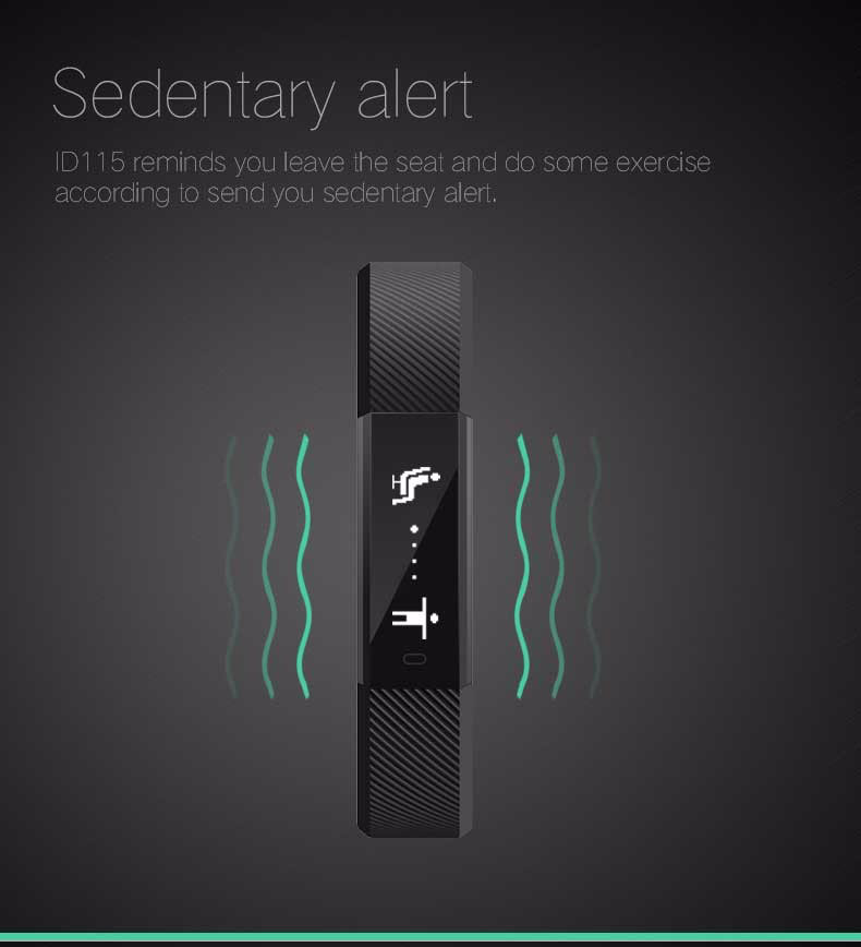 Fentorn ID115 Sports Smart band call message reminder Steps calorie activities Fitness Tracker Wristband Bracelet for smartphone 5