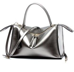 mulheres genuínas bolsas de couro Estilo : Vintage