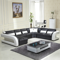 2016 Новый стиль современный диван горячие продаж из натуральной кожи диван мебель оптовая продажа и раздел диван античный дизайн