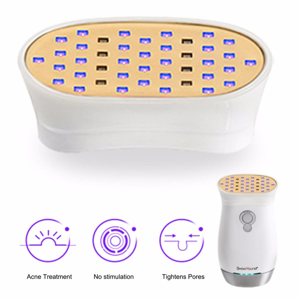 Blue Light Face Massager Head Acne Marks Pimple Removing Skin Cleaning Acne India facial Massager Household Tool Accessories