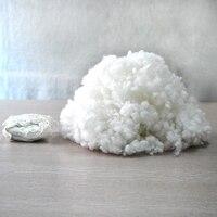 500g Lot Polyester Fiberfill Stuffing Filling Toys Pillow Cushions Filler Cotton Mayitr Good Elastic DIY Sewing